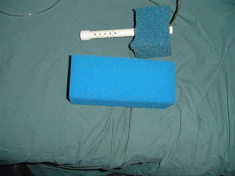Diy sponge filter tropical fish forums for Diy gravel filter
